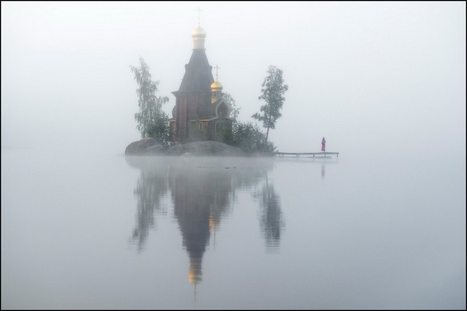 Church of Andrew the Apostle on Vuoksi River