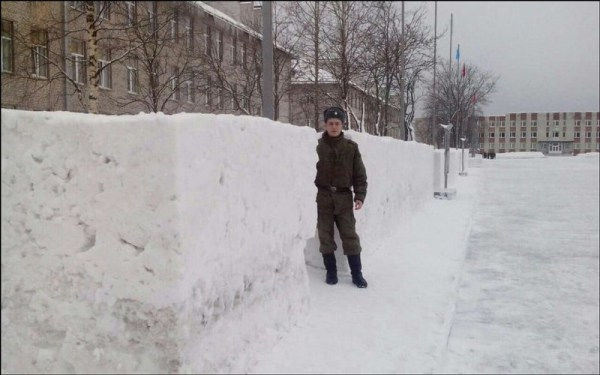 Edging the Snow Bizarre Punishment in Russian Army