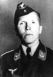 Nikolai Kuznetsov dressed as a Luftwaffe officer. 1942