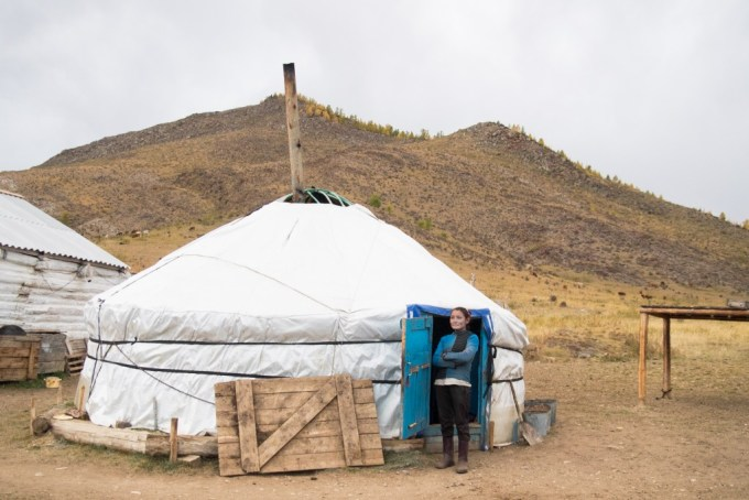 Nomads yurt Photo by Rita Willaert