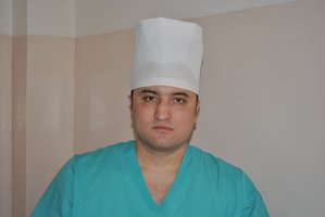 Surgeon Ilya Zelenidov. Photo downloaded from Belgorod's hospital website.