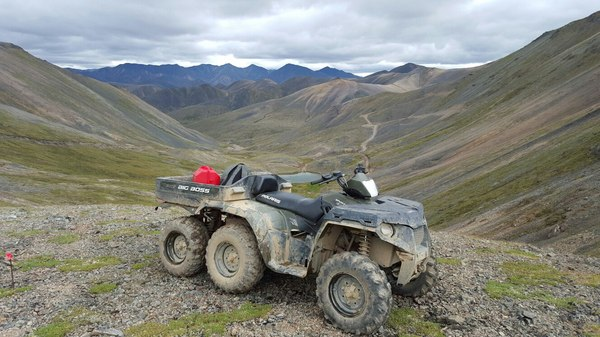 User xandr92 works as a surveyor in Chukotka