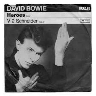bowie single heroes