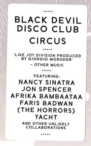 black devil circus