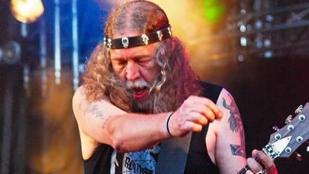 Guitariste compositeur et producteur de Manilla Road, Mark Shelton