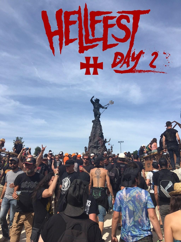 La statue la plus célèbre du Hellfest!