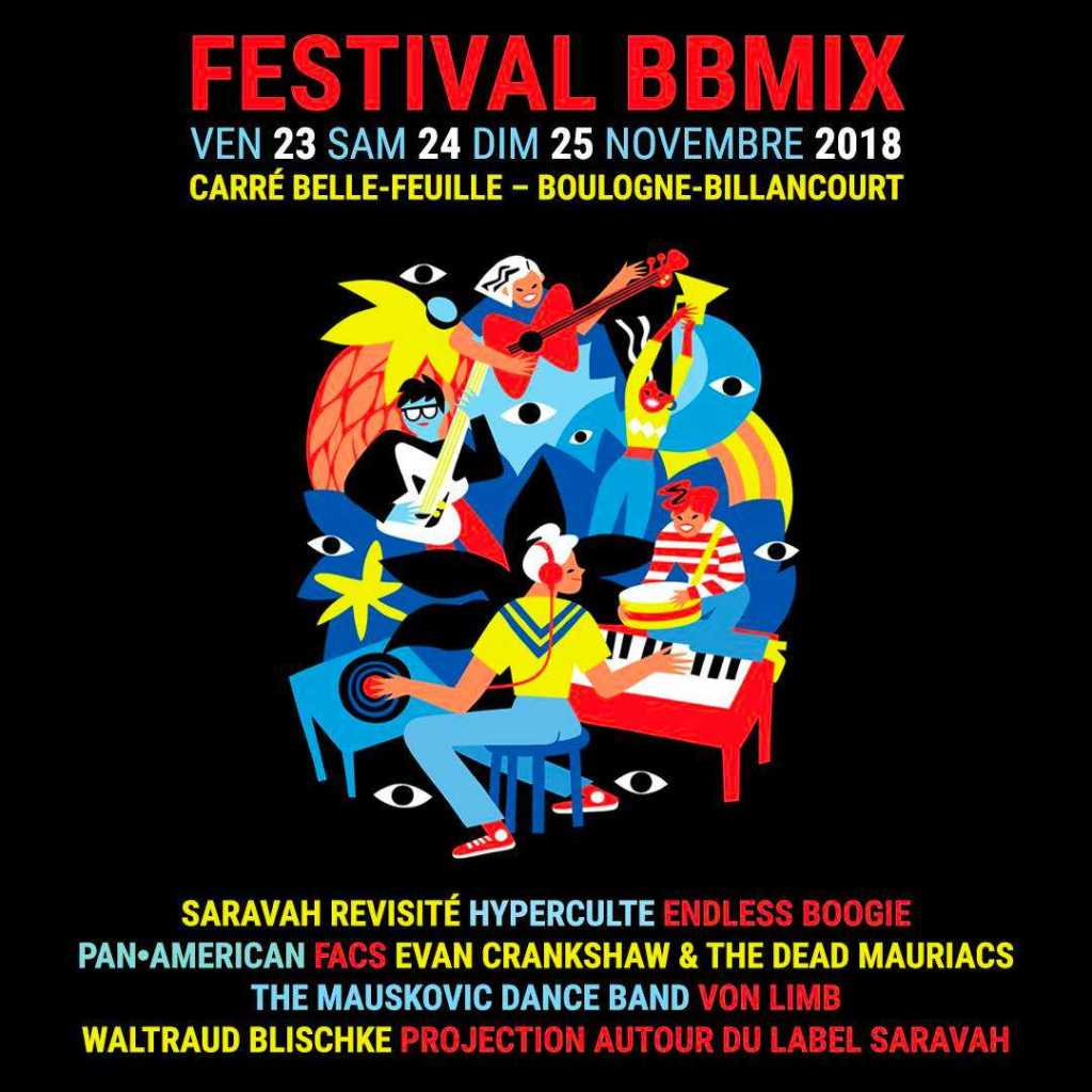 L'affiche de cette nouvelle édition du BBMIX