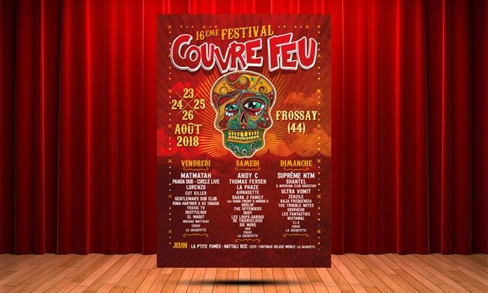 Festival Couvre Feu, Affiche édition 2018
