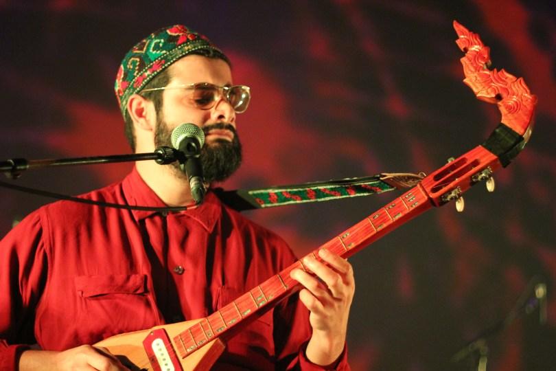 Kamal Rasool de Flamingods / Levitation Angers 2108 - Photo par Ziggy