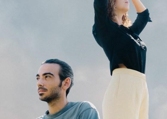 Blandine et Jérémy du groupe Sahara. Crédit photo : Martin Flori