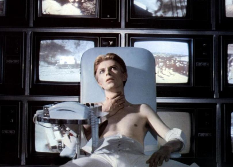 David Bowie dans The Man Who Fell to Earth (1976)
