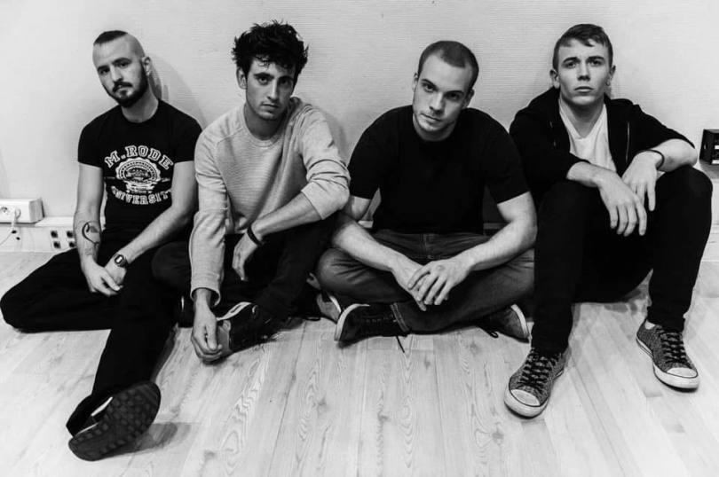 De gauche à droite: Esteban, Arthur, Henri et Tony. Photographie: Gabi Kai.