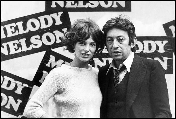 Serge Gainsbourg et 'Melody Nelson', 1971.