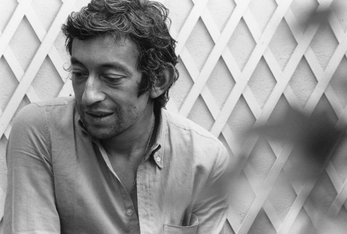 Serge Gainsbourg photographié par Tony Frank, 1968.