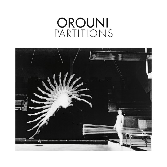 Orouni Partitions pochette du nouvel album 2019