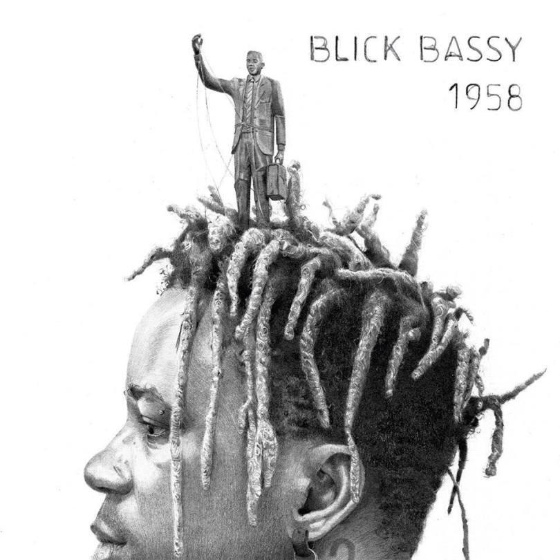 Pochette du nouvel album de Blick Bassy,