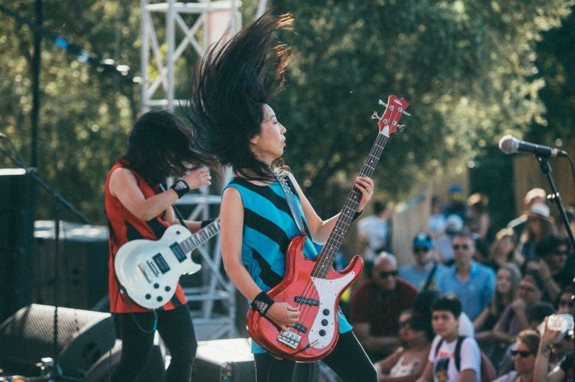 TINALS2019 - Shonen Knife - Boby Allin