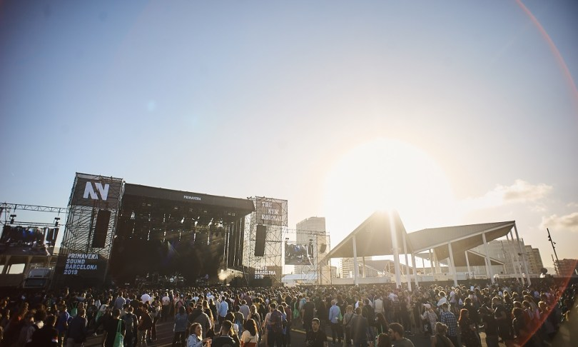 4. 2019 05 29 - Photo 1 Primavera Sound 2019 Scène Primavera