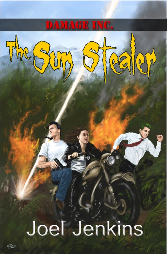 Sun Stealer Front Cover