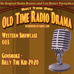 Audio Cover for Gunsmoke - Billy the Kid