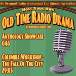 Audio cover for Columbia Workshop - The Fall of the City