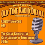 Audio cover for The Great Gildersleeve - Gildy Arrives in Summerfield