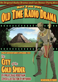 Pulp Adventure - PA003 - City of the Gold Spider