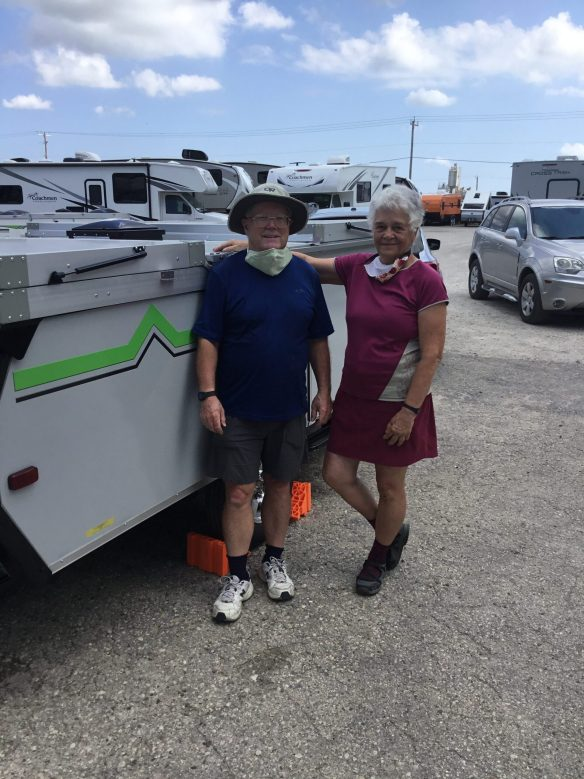 Picking up our new Aliner Ranger 12 July 24, 2020