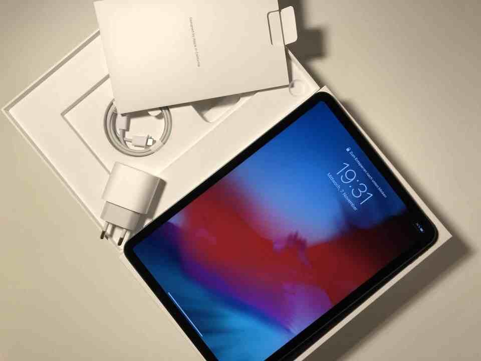 Unboxing iPad Pro, Bild Nr. 4