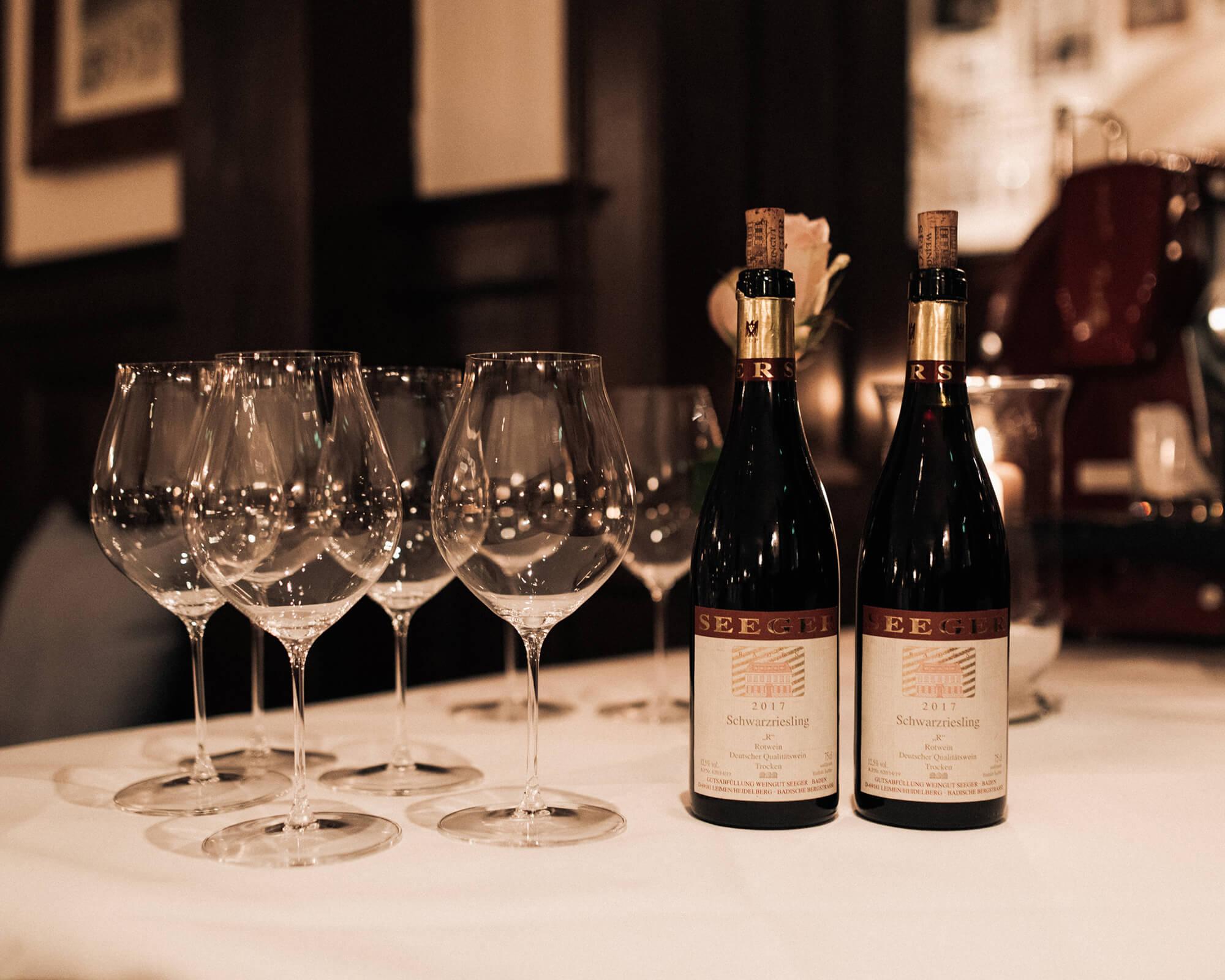 Die grosse Weingutspräsentation Thomas Seeger, Leimen