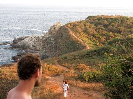 Der Weg zu Punta Cometa