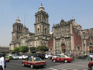 Die Mexico City Metropolitan Cathedral – direkt vor unserer Haustür