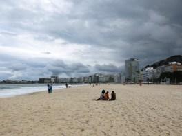 Die leere Copacabana
