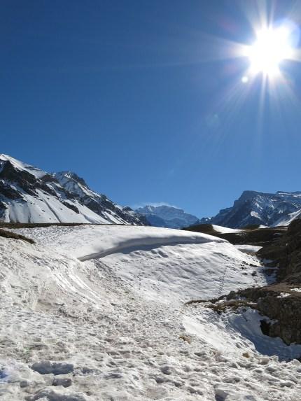 Der höchste Berg Südamerikas ... der kleine in der Mitte ;-)