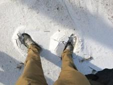 Schnee, Schnee - ach ne Salz Salz