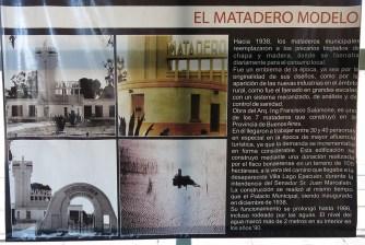 Am Bild vom Matadero wird klar wie unglaublich hoch das Wasser stand.