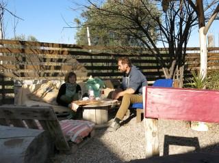 Zwischenstopp im mexikanisch-angehauchten Biergarten