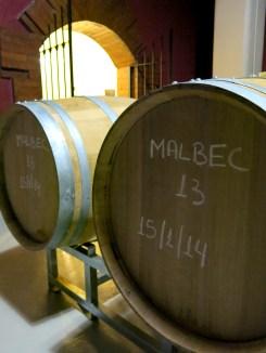 2013er Wein, im Fass seit...