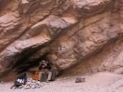 Die Form der Höhle verstärkt die Musik um ein Vielfaches.
