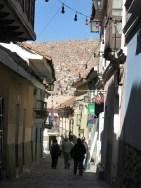 Die niedliche Gasse Calle Jaén