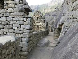 Die Wohnbereiche von Machu Picchu