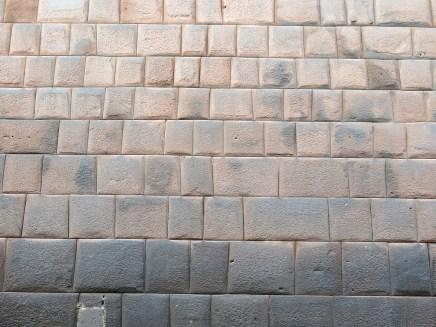 Alle Steine passen perfekt aufeinander