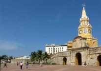 Der berühmte Clock Tower in Cartagena – ohne Zeiger ;-)