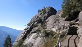 Der Weg hoch zum Moro Rock