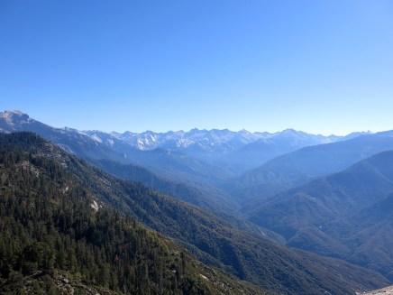 Die Aussicht vom Moro Rock