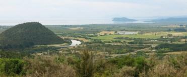 Blick auf den Lake Taupo