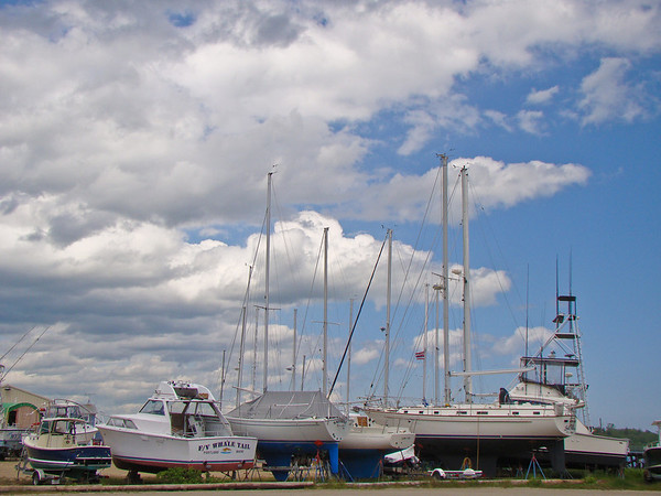Big Sky over Boats