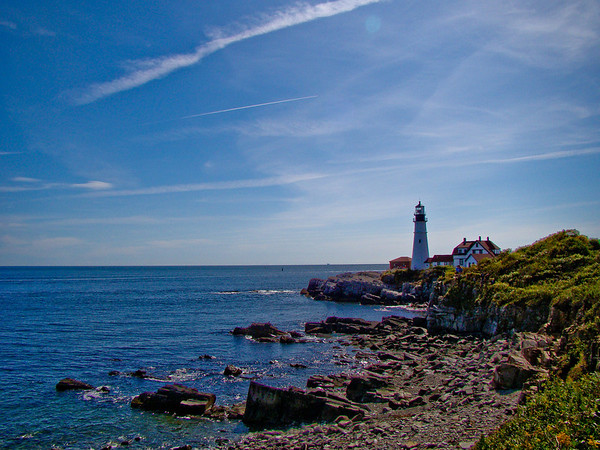 Portland Head Light: the other view