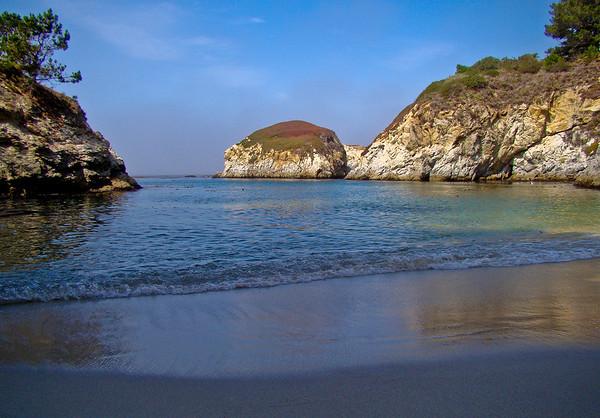 China Beach in China Cove: Point Lobos