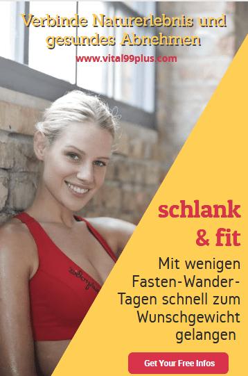 Zur top Bikinifigur mit modifiziertem Fastenwandern